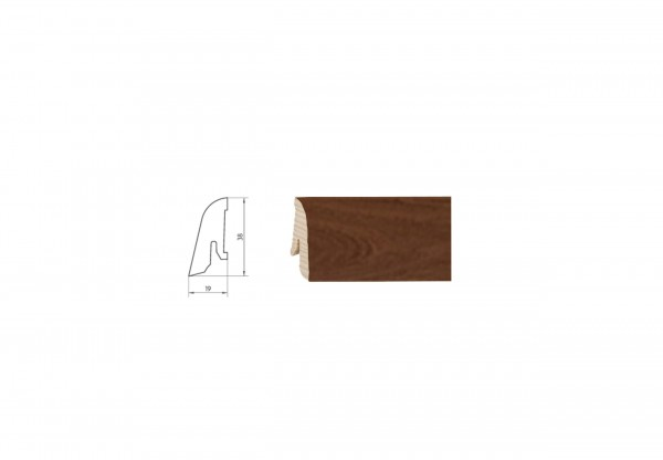 Parkettleiste SF 40 Robinie (Akazie) ged. ProStrong 2,50 m - WP 13687